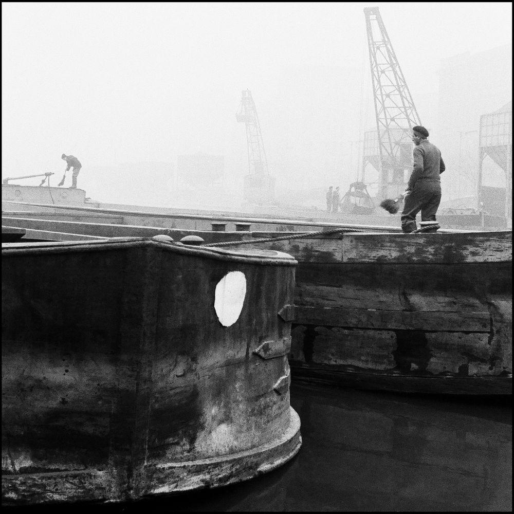Darsena primi anni '60. Foto di Virgilio Carnisio da virgiliocarnisio.it