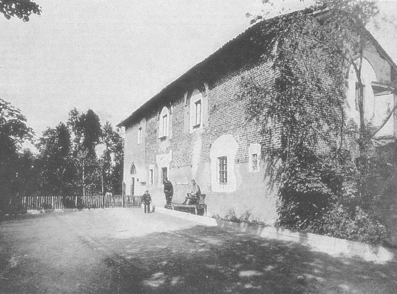 Cascina Carlioncina (attuale Via Danusso, ex Via Boffalora) negli anni '20 del 1900- Fonte fotografica Flickr.it