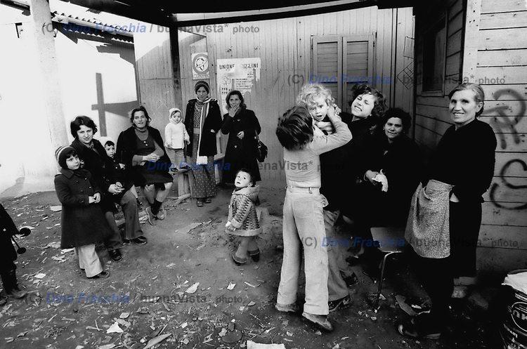 Milano Barona 1974. Occupazione cantiere e complesso di edilizia IACP di Via Lope de Vega-Famagosta.