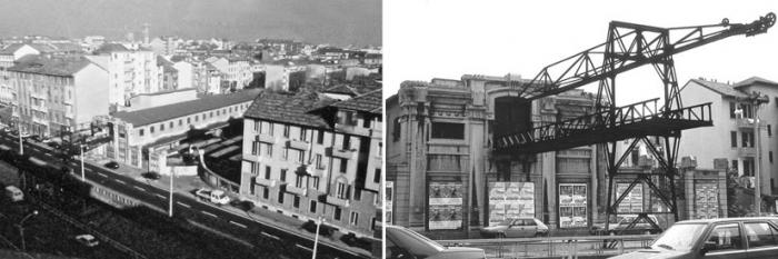 Milano Barona ai confini di Chiesa Rossa, anni '80. Via della Chiesa Rossa 9. (fonte fotografica: mumi ecomuseo)
