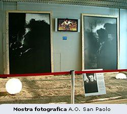 Ottobre 2006. Mostra fotografica in ricordo di Lucio Battisti (deceduto all'Ospedale San Paolo alla Barona il 9 Settembre 1998). http://www.ao-sanpaolo.it/news/index.html@id=308.html