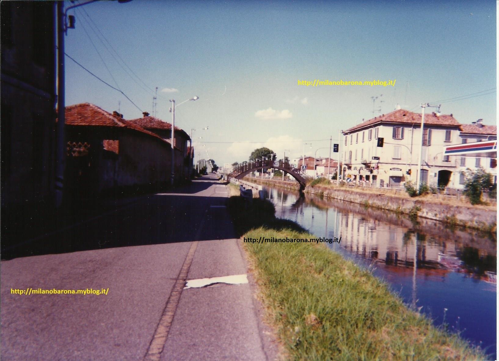 Naviglio Pavese altezza Via Boffalora, Agosto 1996