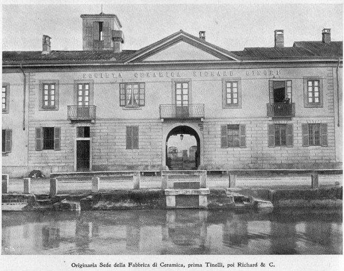Originaria sede Fabbrica Ceramica Tinelli, poi Richard & Co (da mumi-ecomuseo.it) (inserito il 21/11/16)
