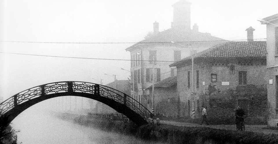 Ponticello e cascina Annone (primi anni '80 circa). Fonte fotografica : Pinterest.co.uk