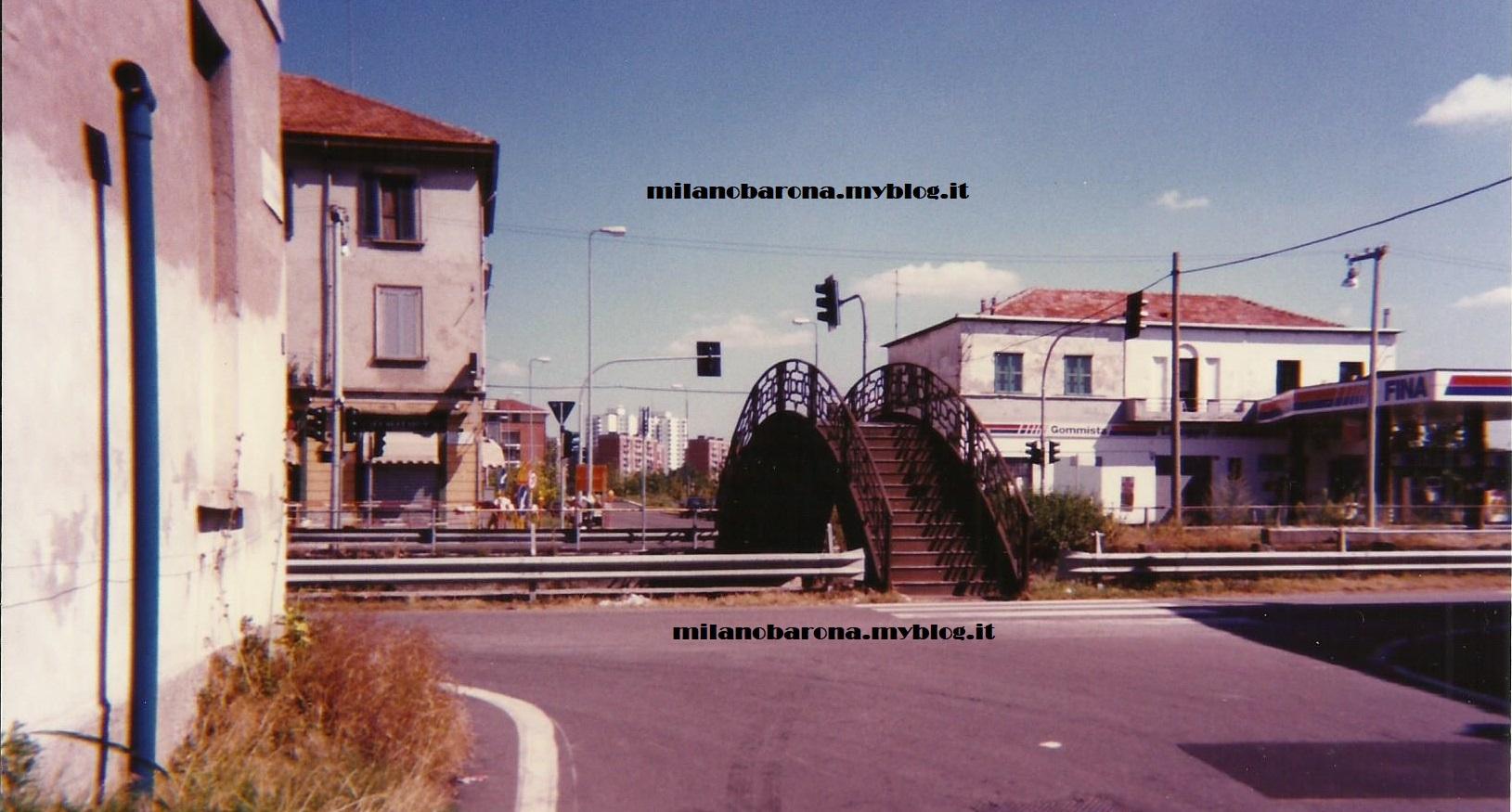 Ponticello Annone. Via Gattinara. Agosto 1995 (foto inedita pubblicata il 9/6/2018)