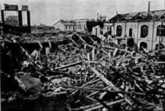 San Cristoforo bombardata