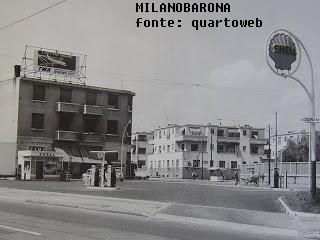 Quarto Oggiaro 1966. Largo Boccioni.