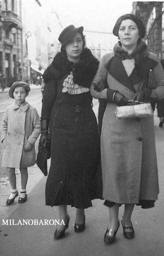 Milano Cordusio 1935. Via Dante.