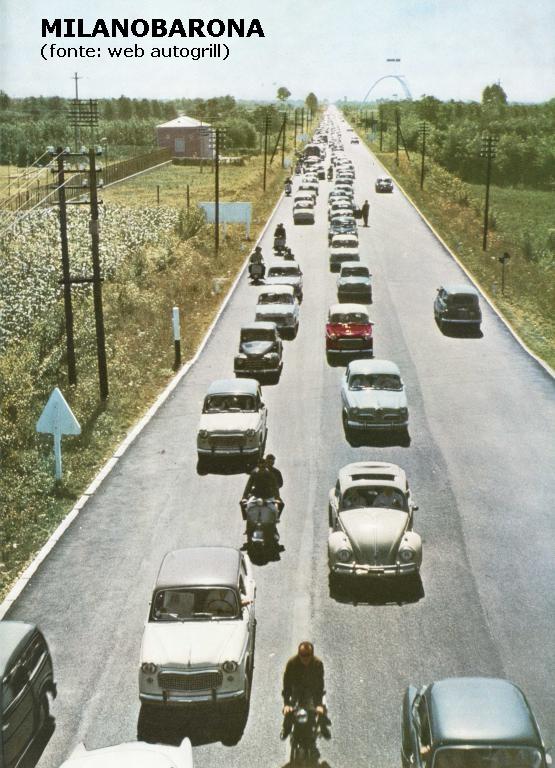 Lainate 1958 (vicinanze area di servizio Villoresi Ovest), Autostrada Milano Laghi.