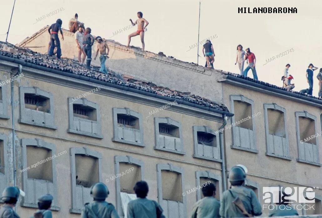 Estate 1969. Rivolta detenuti nel carcere di San Vittore.
