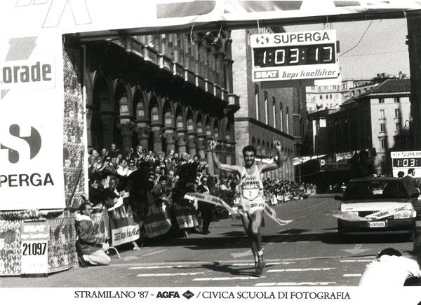 Milano 1987, Piazza Duomo. Edizione 1987 della Stramilano.