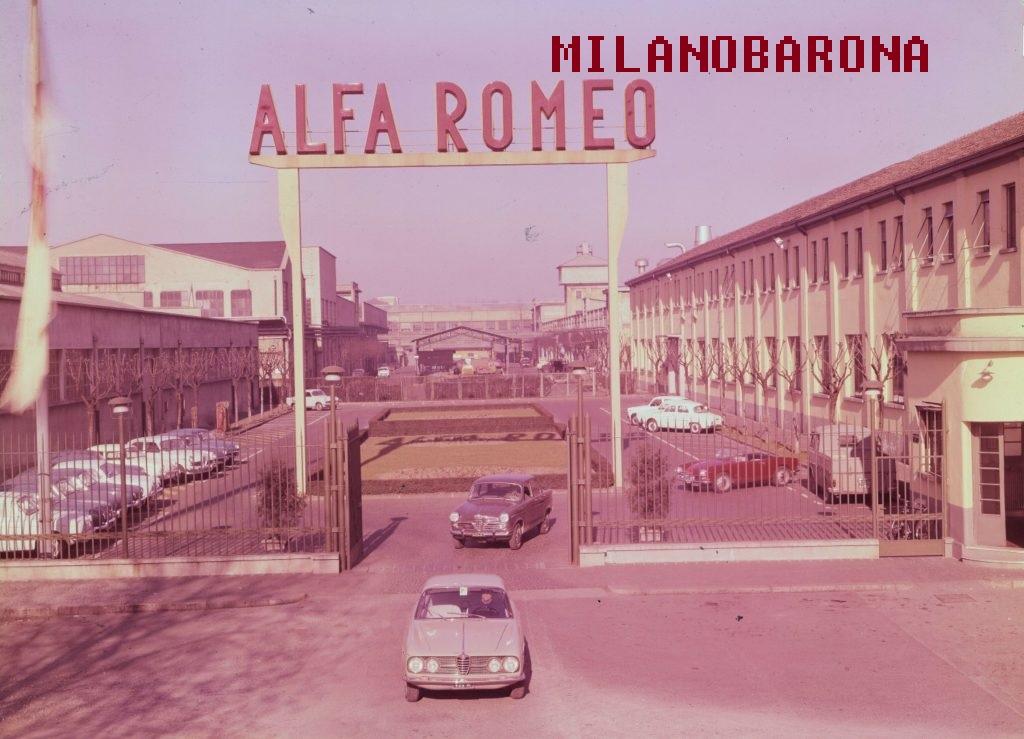 Stabilimenti Alfa Romeo di Arese, 1960 circa.