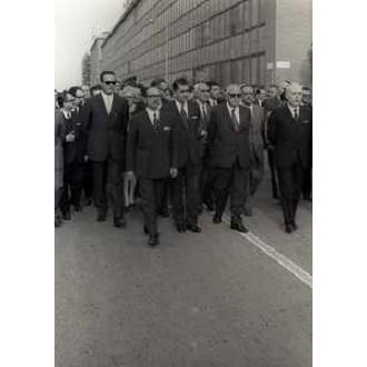 Milano Crescenzago 26 Giugno 1970. Funerali di Angelo Rizzoli (in presenza del Sindaco Aniasi).