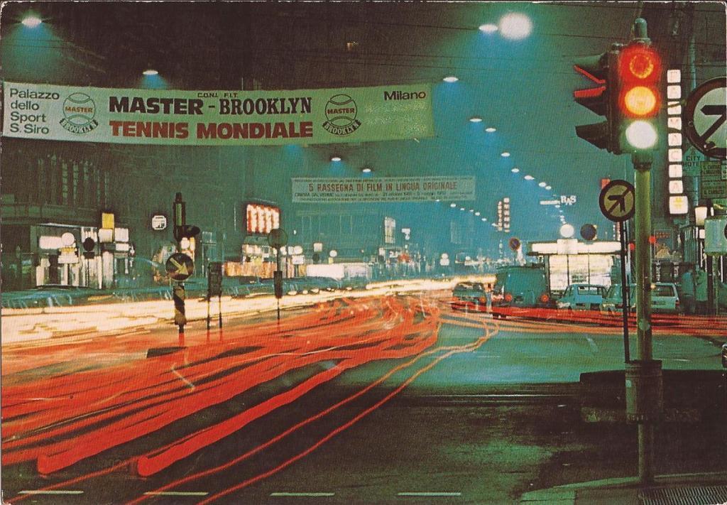 Corso Buenos Aires in notturna (anni 80). (fonte immagine: web giusepperausa)