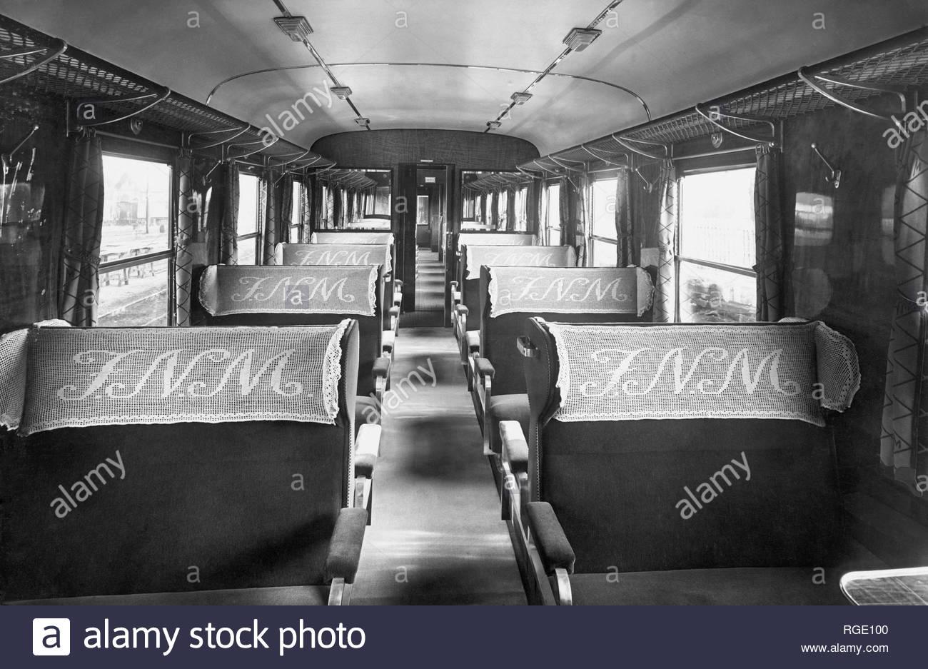 Prima Classe carrozze Ferrovie Nord Milano (1959-60 circa)