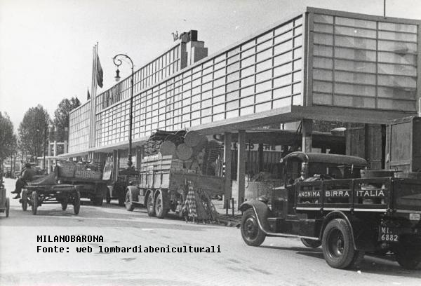 Fiera campionaria 1940. (fonte immagine: web lombardiabeniculturali)