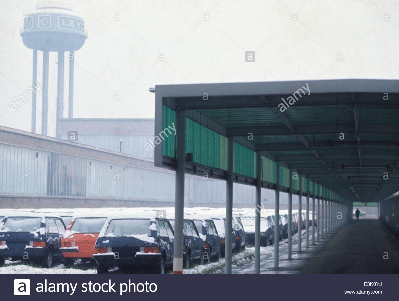 Milano Lambrate anni '70. Stabilimenti Leyland Innocenti.