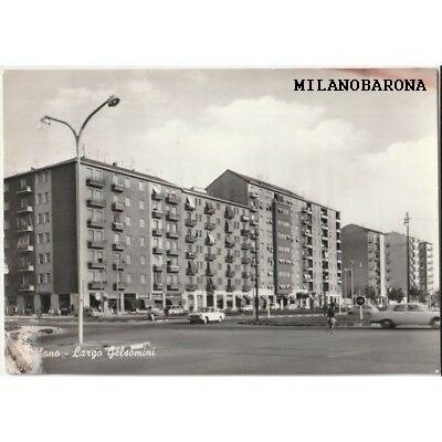 Milano 1970 circa Lorenteggio-Giambellino. Largo dei Gelsomini all'intersezione con Via Lorenteggio. (picclick)