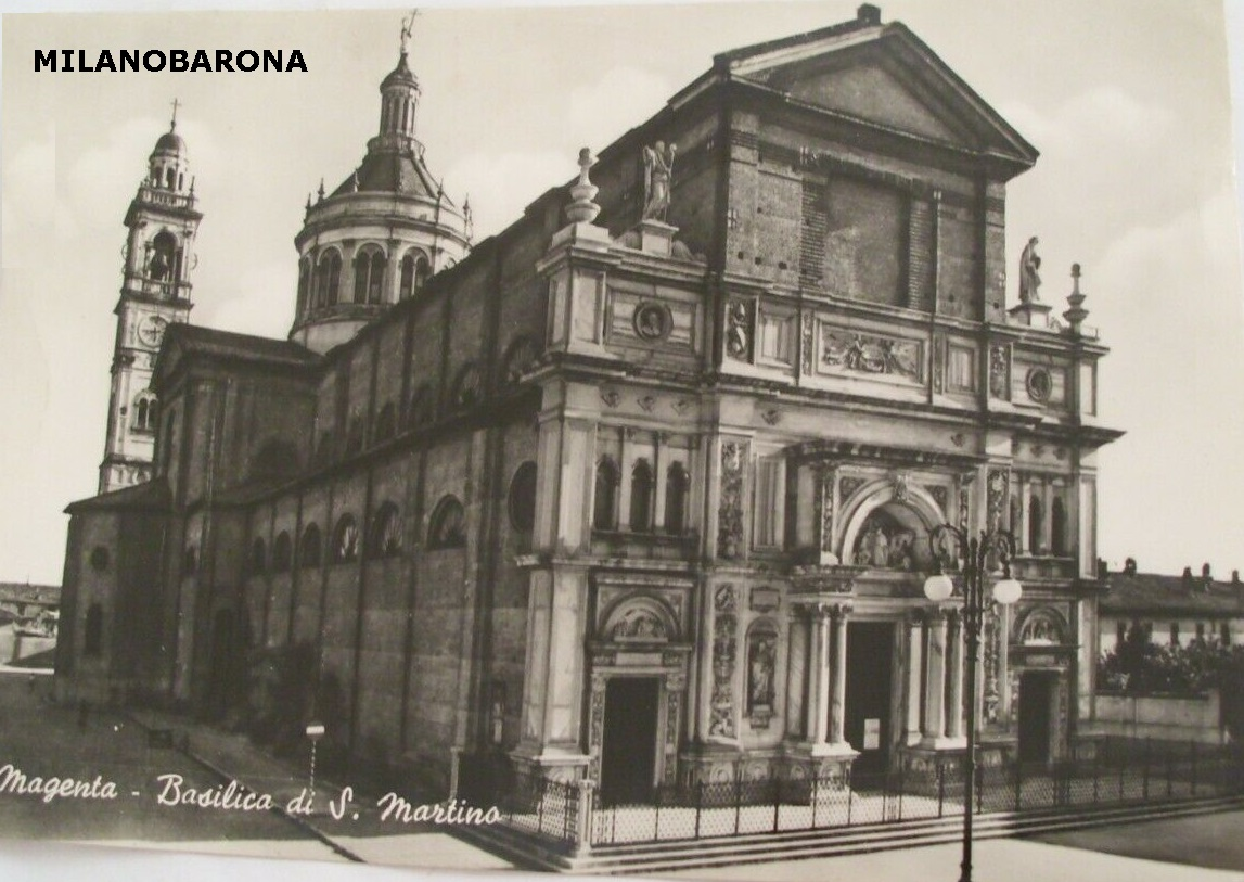Magenta (Città metropolitana di Milano), Basilica San Martino. (ebay)