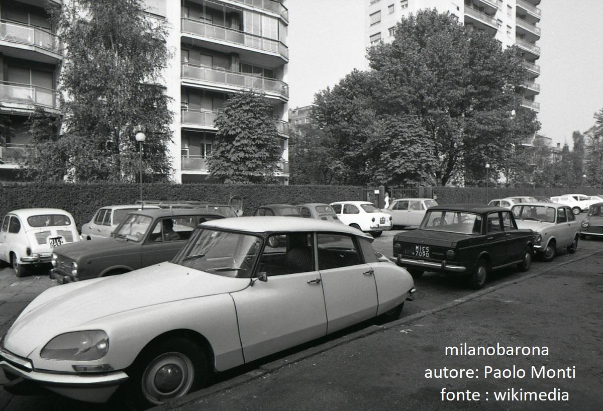 Milano 1970. Pagano/Sempione. Largo V° Alpini.