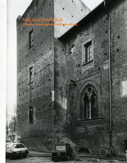 Abbiategrasso (Città metropolitana di Milano), 1980. Castello Visconteo. (autore Paolo Monti)