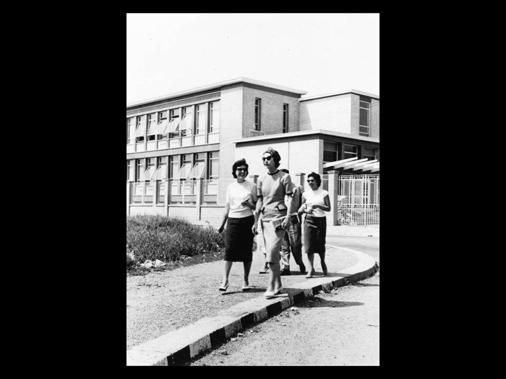 Milano 1960 circa. Tra Casoretto e Lambrate. Sede IBM di Via Tolmezzo (realizzata nel 1934, demolita negli anni '2000).