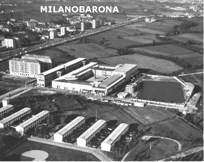 Crescenzago 1962. Veduta aerea stabilimenti e direzione della Rizzoli Editore. (fonte immagine: web doncalabria)