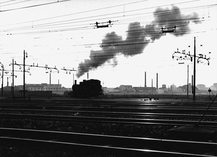 Rogoredo, anni '50 del 900. Scalo ferroviario. Autore Roberto Spampinato (fonte web admiraphotography)