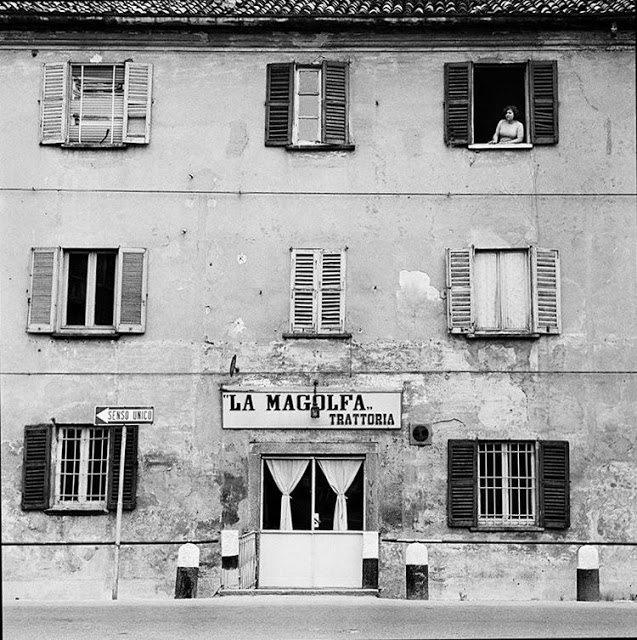 Trattoria La Magolfa, Via Magolfa 15, anni 60. (http://storiedimilano.blogspot.it/)