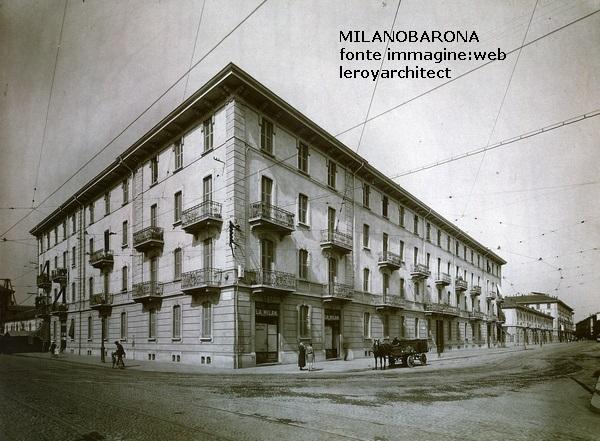 Via Ascanio Sforza angolo Via spaventa (anni 30))