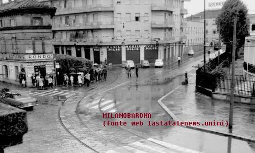 Vigentino, 1965-70 circa, Via Ripamonti-Via Noto, Capolinea tram linea 24 (purtroppo l'immagine non ritrae vetture al capolinea). (fonte immagine web: lastatalenews.unimi)