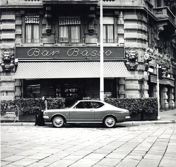 Milano 1972, tra Porta Venezia e Città Studi. Via Plinio. (fonte fotografica pubblicitaria)
