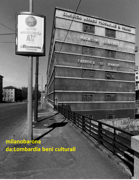 Milano 1978, Porta Vigentina-Porta Romana, Via Ripamonti (lungo il cavvalcavia che sovrasta lo scalo ferroviario Porta Romana- Tecnomasio Italiano Brown Boveri. Autore immagine Gabriele Basilico.