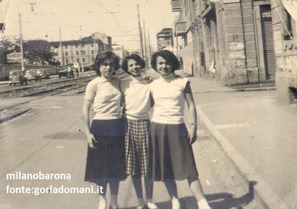 Milano 1955 circa, Gorla. Viale Monza.