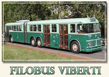 Filobus FIAT Viberti 2472 CGE (anni '60 Milano), nella livrea originale. bicolore verde ministeriale. (fonte web clamfer)