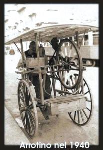 Arrotino ambulante, 1940 circa. (fonte immagine web milanoud)