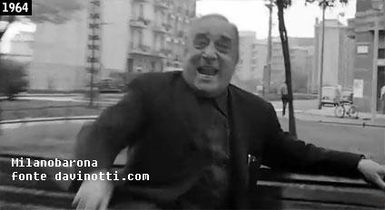 """Barona 1964. Fotogramma del film """"Bianco Rosso Giallo Rosa"""" di Massimo Mida."""