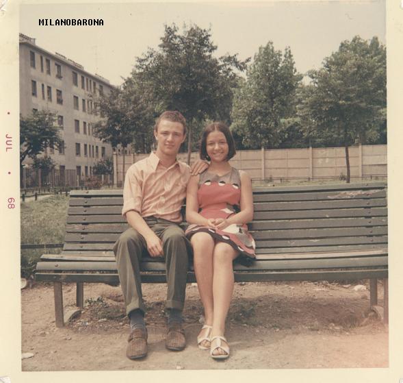 Cagnola 1968. Via Chiari (fonte: web milano.biblioteche)