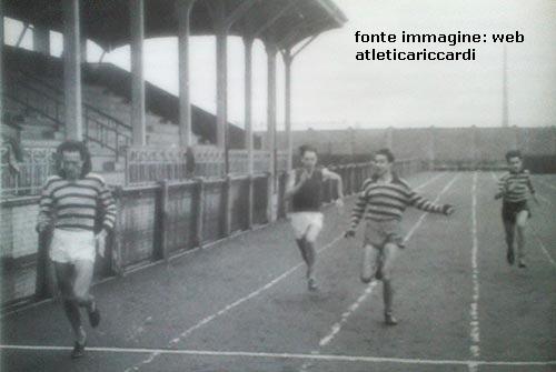 """Vigentino 1947. Via Gallura. Campo sportivo """"Forza e coraggio"""""""