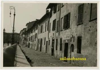 Milano primi del '900. Corso di Porta Vittoria. (fonte: web fotografieincomune)