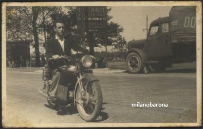 Milano 1947. Dazio di Crescenzago. (fonte: web Pratmarmilano)