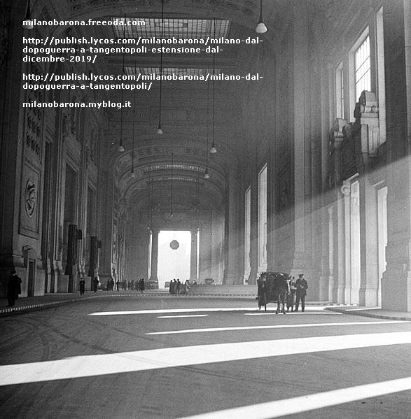 Stazione Centrale 1937. Galleria delle carrozze. (fonta immagine: wikipedia)