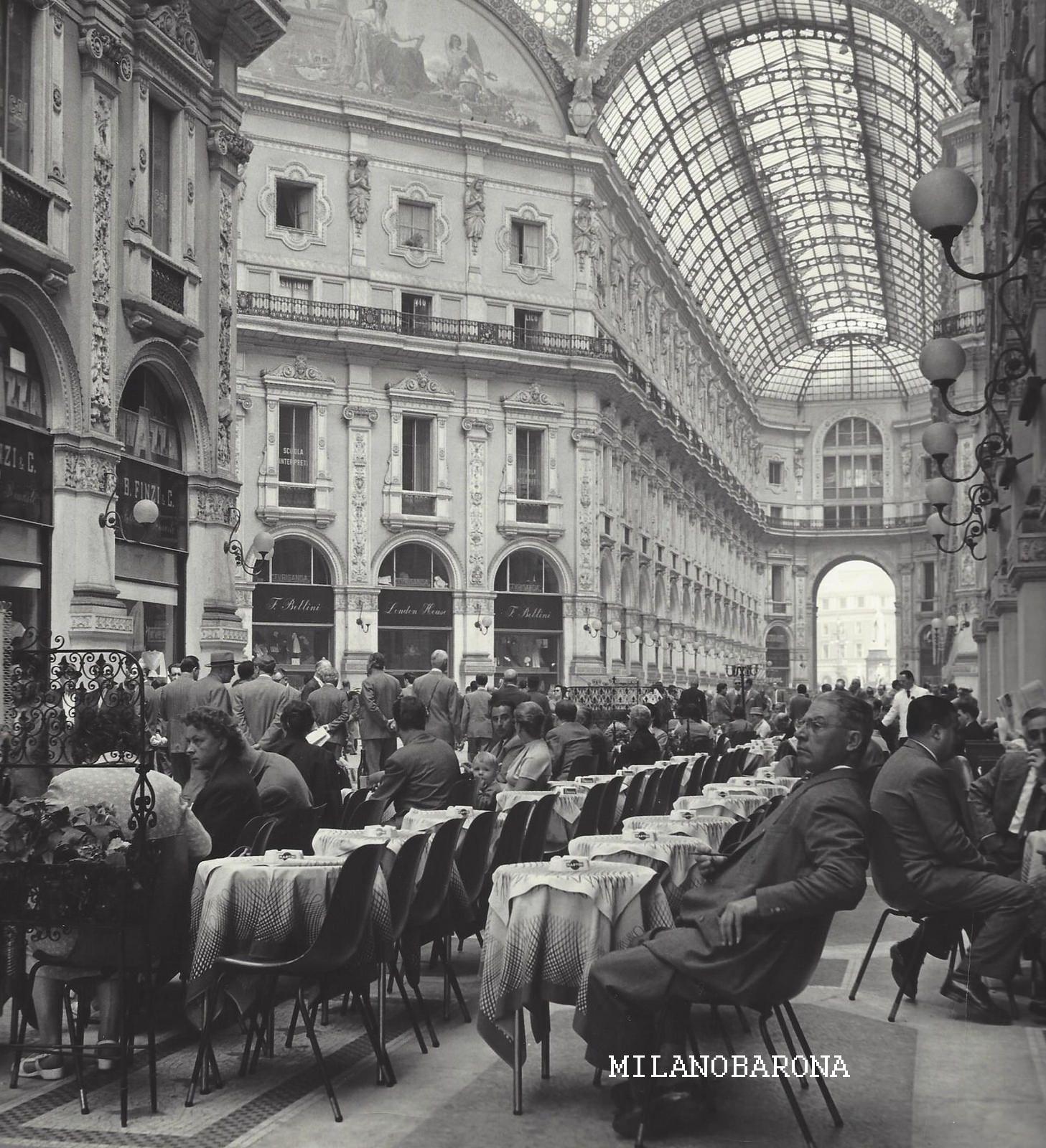 Galleria Vittorio Emanuele (anni '50 del 1900).
