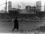1959, la nuova City in ultimazione vista dal quartiere Greco (Via Bettoni). Una Milano piena di promesse, con gli allora nuovi grattacieli più alti d'Europa
