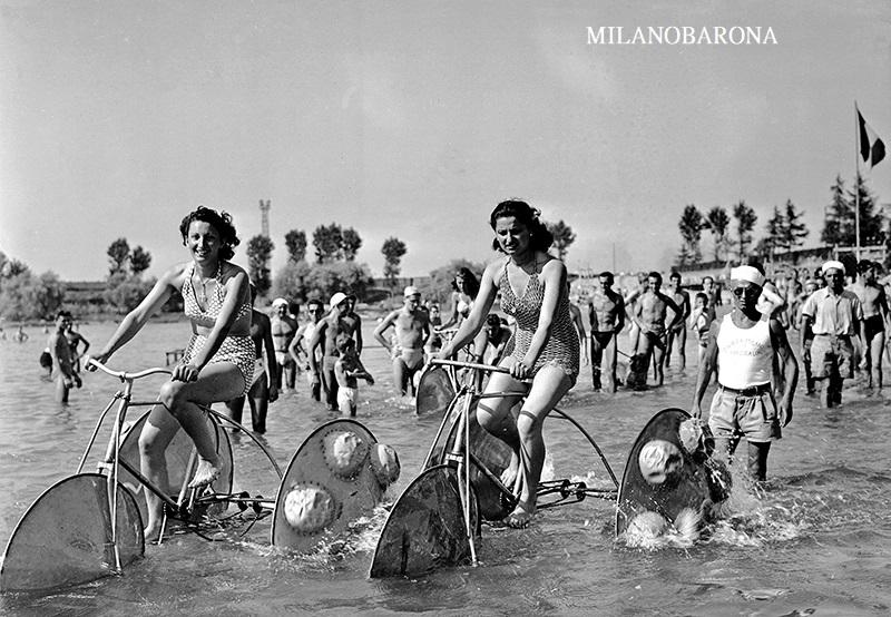 Milano 1947 Idroscalo. Autore Fedele Toscani (fonte milano città delle scienze)
