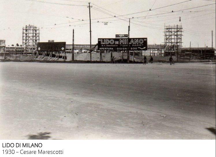 Cantiere Lido di Milano 1930. (fonte web identitamilano)