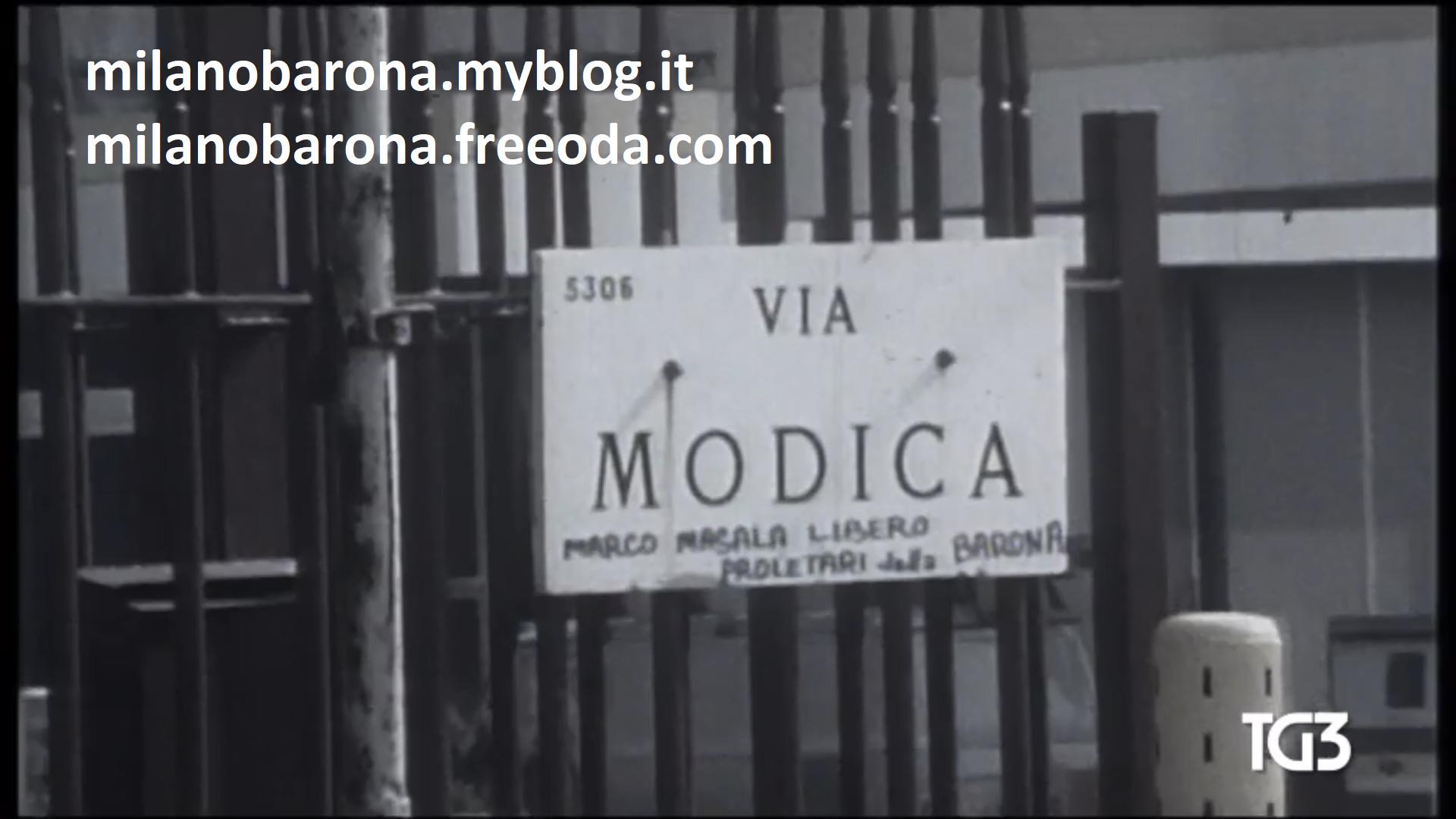 """""""Frammento"""" acquisito dalla rete 3 Rai tg3 relativo al filmato originale, ripreso dalla RAI di Milano, il 19 Aprile 1979, del luogo dell'agguato mortale dell'agente DIGOS Andrea Campagna, in Via Modica, angolo Via Santa Rita da Cascia, avvenuto il pomeriggio del 19 Aprile 1979 nel quartiere Barona."""