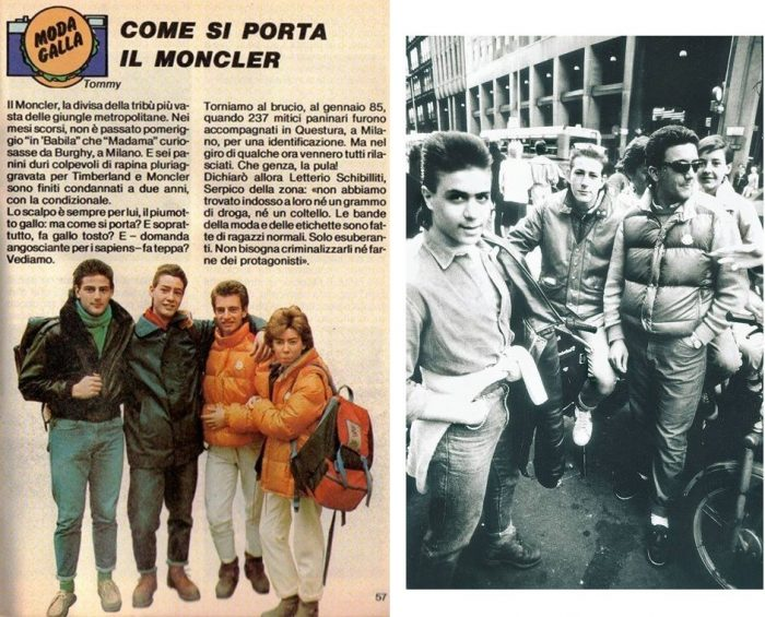 """Negli anni '80 esisteva un periodico dedicato al """"look"""" paninaro... Tale pubblicazione chiuse i battenti nella tarda primavera del 1989."""