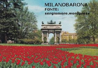 Parco Sempione Arco della Pace 1978. Fonte immagine: sergiomore.wordpress