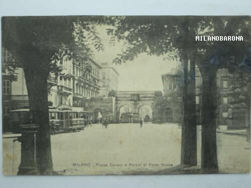 Piazza Cavour 1910 circa, (fonte immagine: web losciame.it)